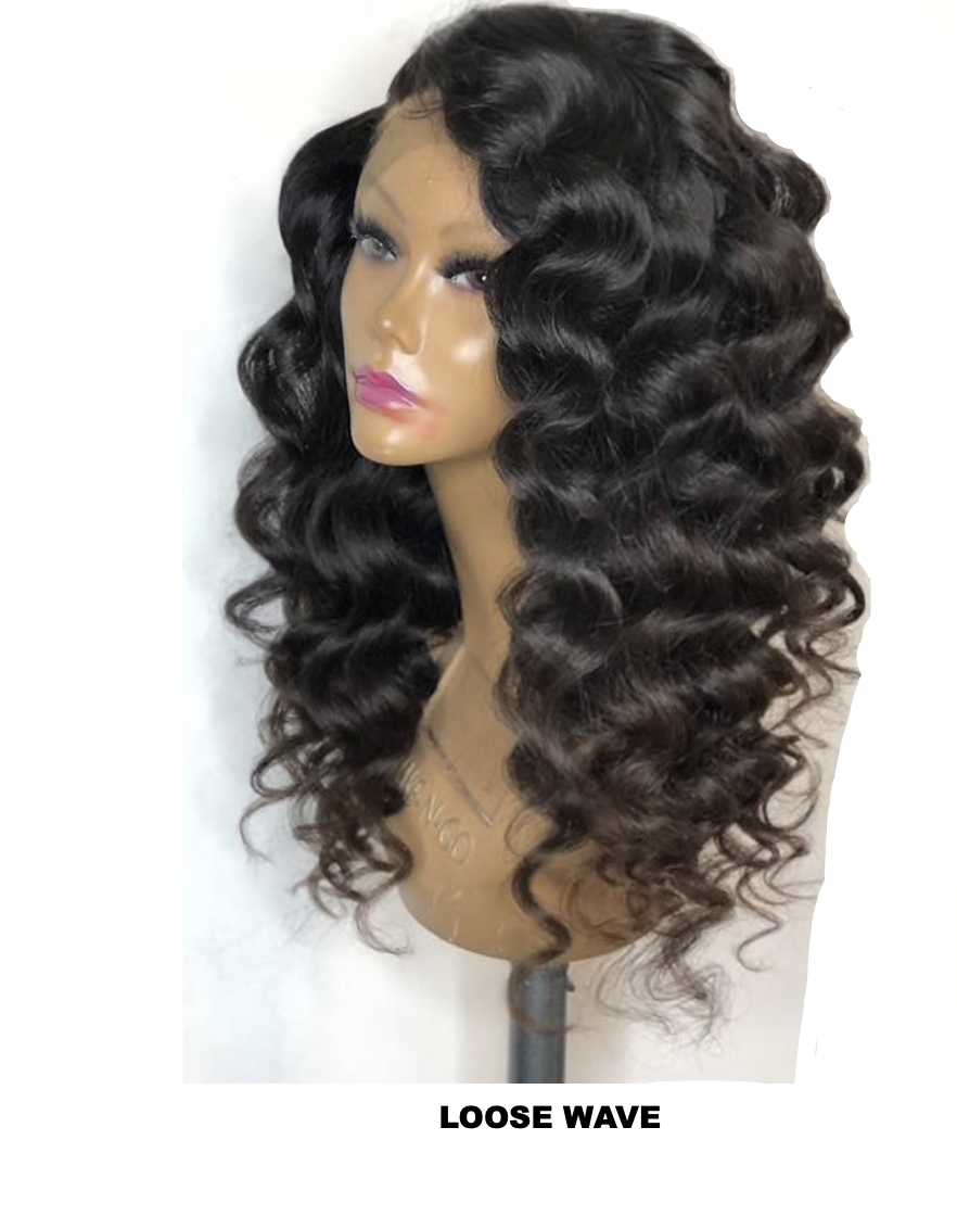 4x4 GLUELESS CLOSURE WIGS- LOOSE WAVE