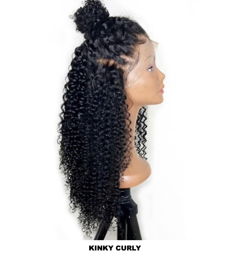 LACE FRONTAL WIGS- KINKY CURLY