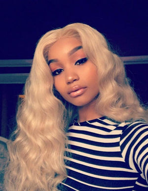 LACE FRONTAL WIGS BLONDE 613 BODY WAVE