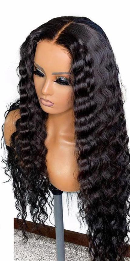 LACE FRONTAL WIGS- DEEP WAVE