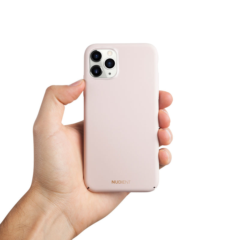 Ohut iPhone 11 Pro Max 6,5 kuori V2 - Candy Pink