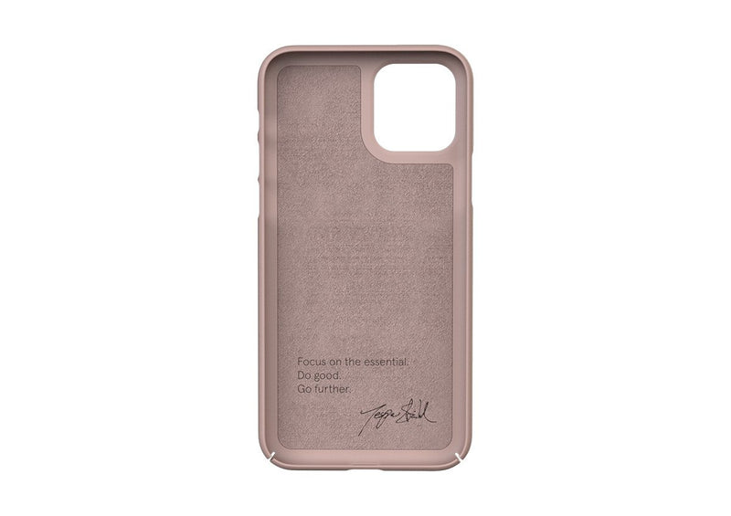 Nudient - Ohut iPhone 11 Pro kuori V3 - Dusty Pink