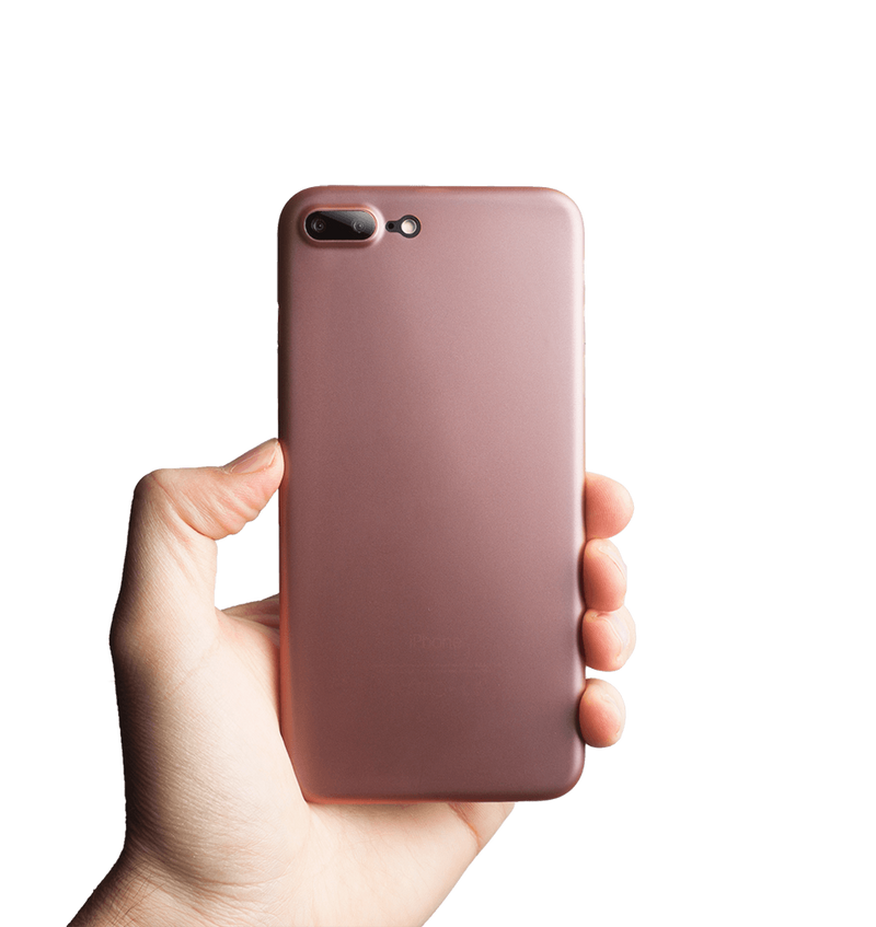 tunt rosa iphone 7 plus skal