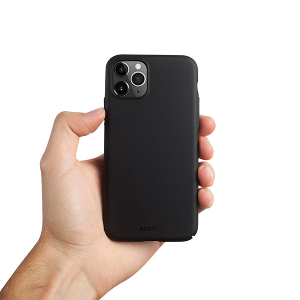 Ohut iPhone 11 Pro Max 6,5 kuori V2 - Stealth Black