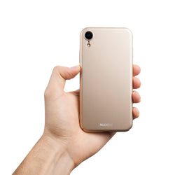 Ohut iPhone XR kuori V2 - Jewelry gold