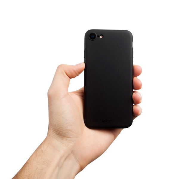 Ohut iPhone 8 kuori V2 - Stealth black