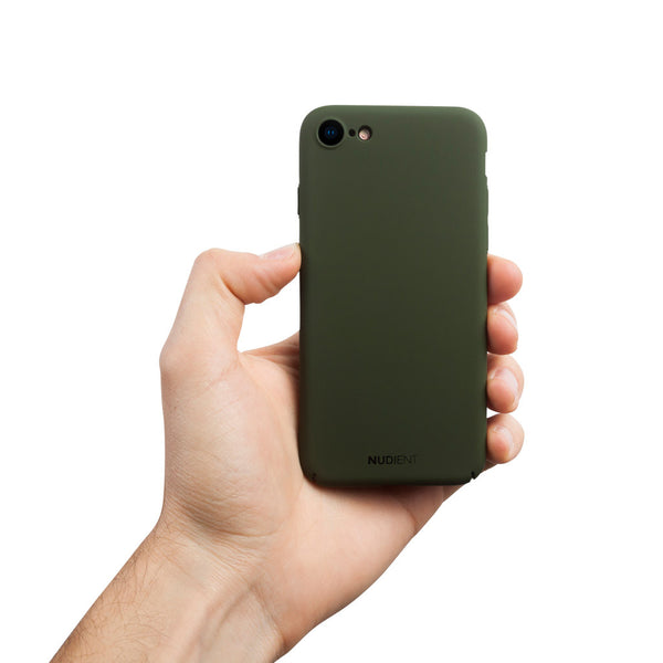 Ohut iPhone 8 kuori V2 - Majestic green