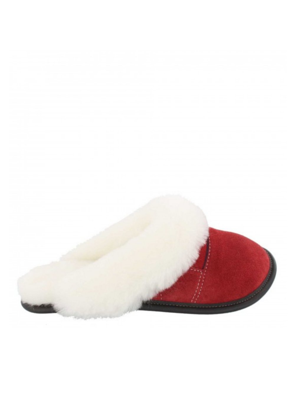 GARNEAU TWO-TONE MULE HEAD SLIPPERS 0450