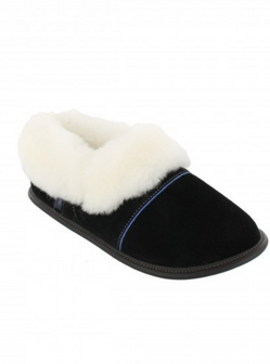 GARNEAU LAZYBONE SHEEPSKIN SLIPPERS 0550