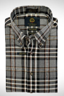 Viyella Tailored Fit Plaid Shirt