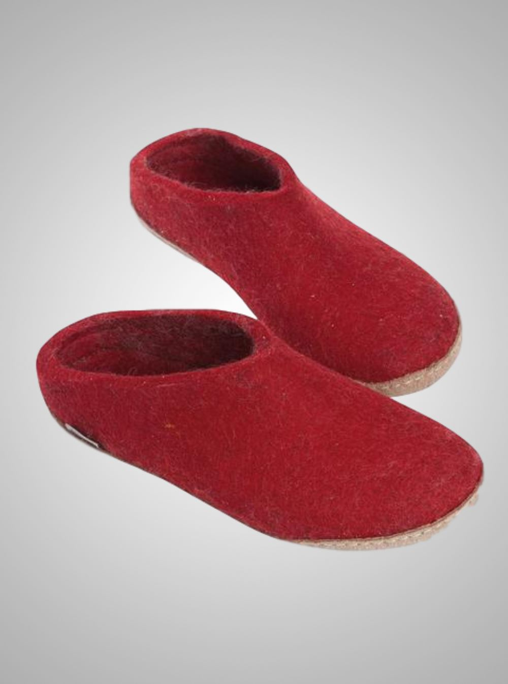 Womens Glerups Slippers with Leather Sole    B-01-00