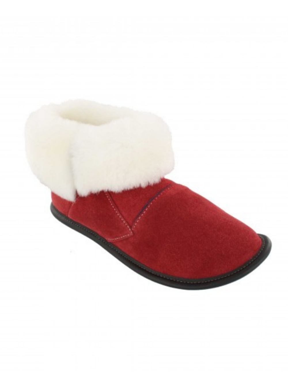 GARNEAU TWO-TONE SHIN HUGGER SLIPPERS 0250