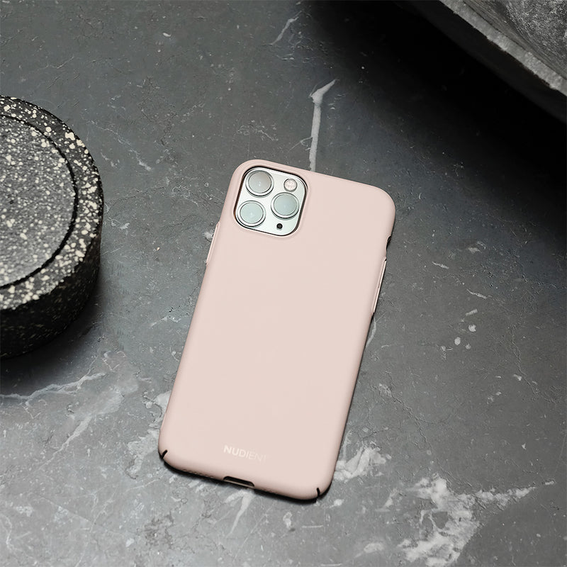 Tynt iPhone 11 Pro Max 6,5 Designerdeksel V2 - Candy Pink