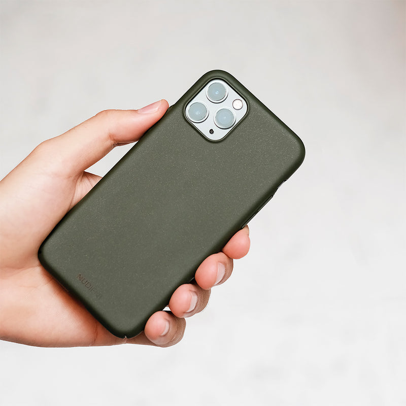 Tynt iPhone 11 Pro 5,8 Designerdeksel V2 - Majestic Green