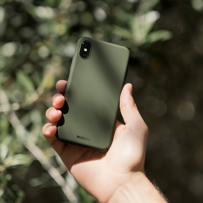 Tynt iPhone XR Designerdeksel V2 - Majestic Green
