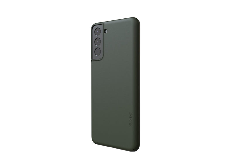 Nudient - Tynt Samsung S21 Plus Deksel V3 - Pine Green