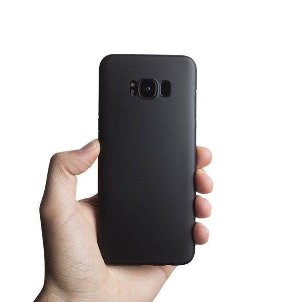 Supertynt Samsung S8 Plus deksel - Solid black