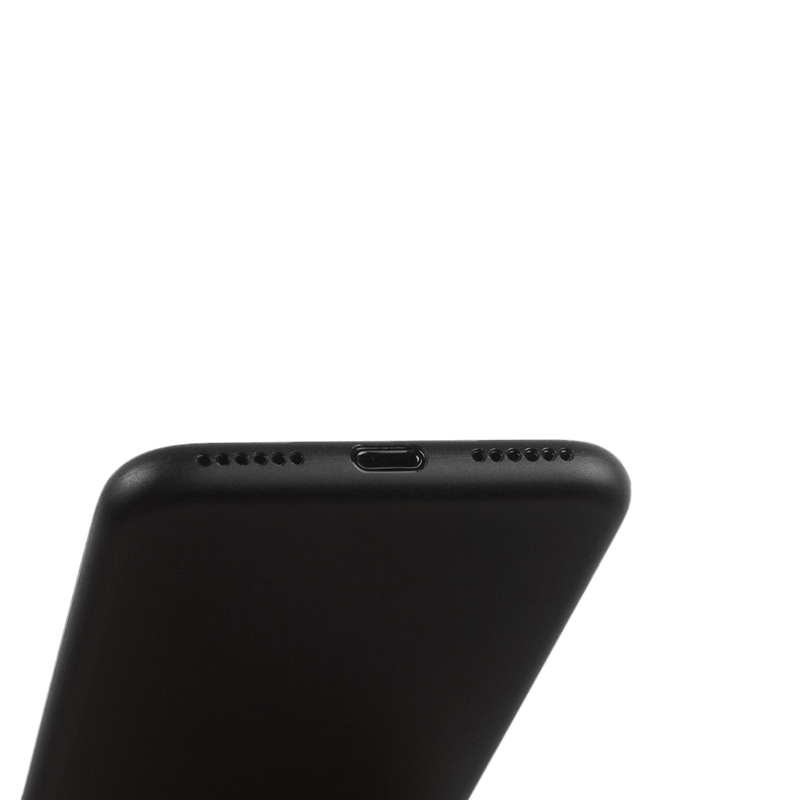 Supertynt iPhone 8 deksel - Solid black