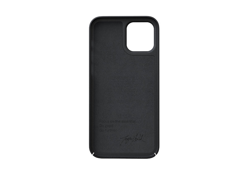 Nudient - Tynt iPhone 12 Deksel V3 - Ink Black