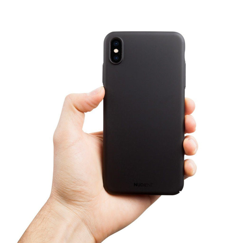 Tynt iPhone XS Max Designerdeksel V2 - Stealth Black