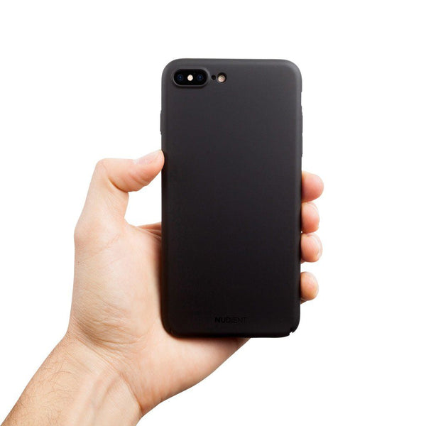 Tynt iPhone 8 Plus Designerdeksel V2 - Stealth Black
