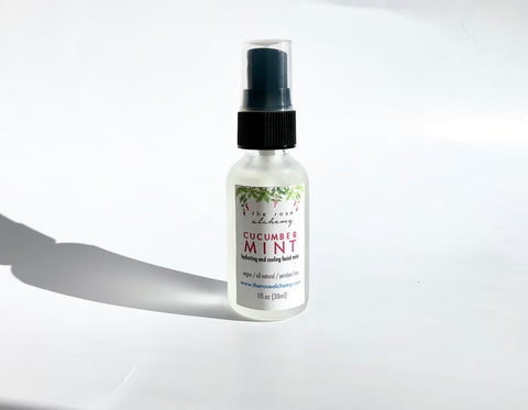 Mini Cucumber Mint - Hydrating & Cooling Facial Mist