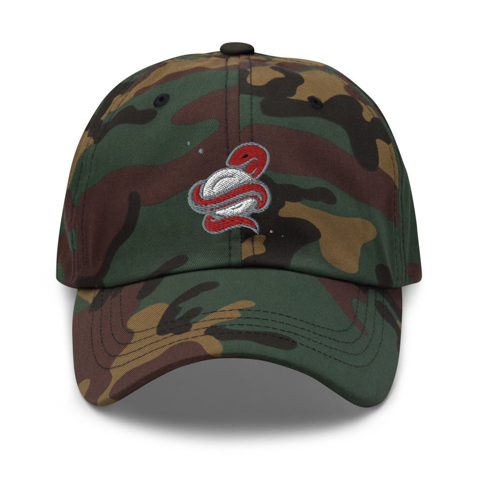 SNAKE DAD HAT • 3 color options