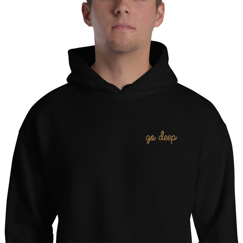 Go Deep Hoodie  • 3 color options
