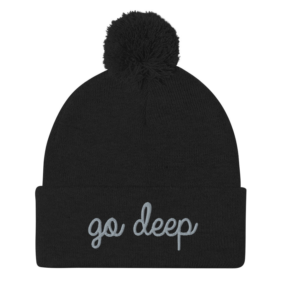 GO DEEP KNIT CAP • 3 color options