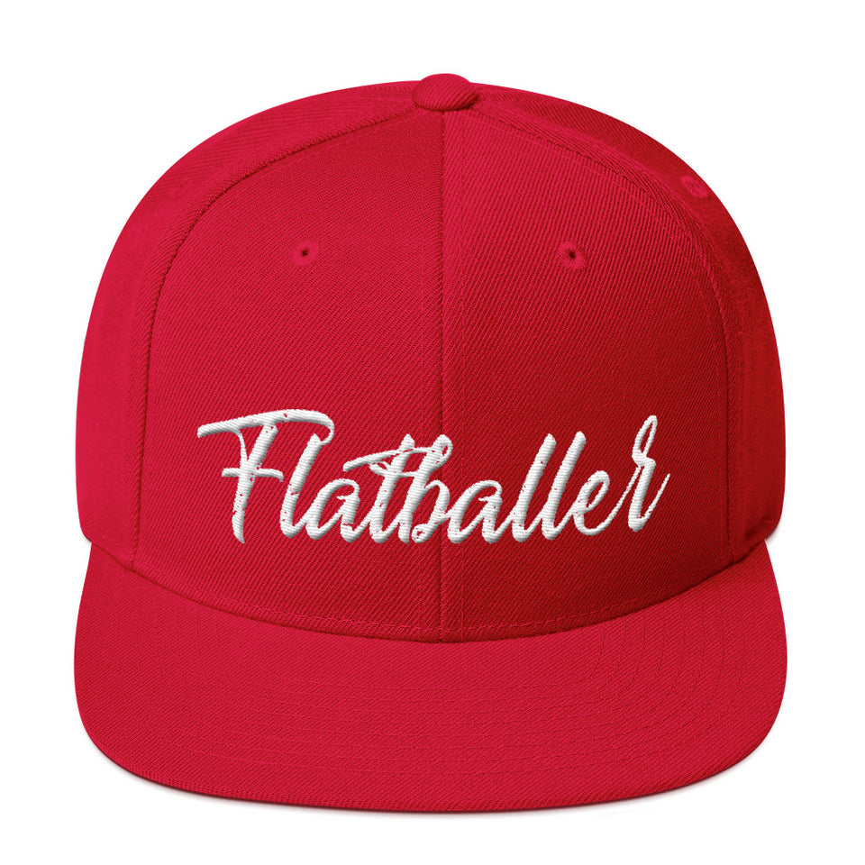 FLATBALLER SNAPBACK • 3 color options