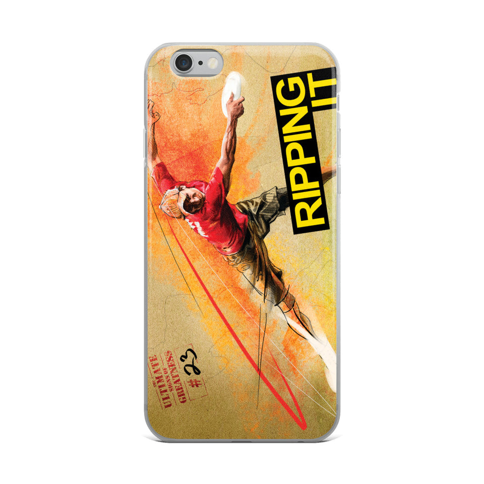 'RIPPING IT' IPHONE CASES