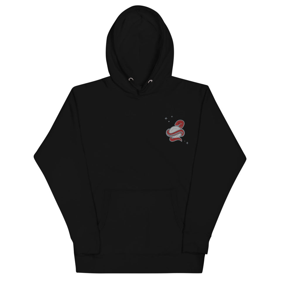 SNAKE HOODIE EMBROIDERY • 3 color options