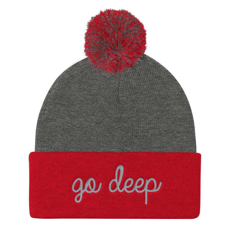 GO DEEP KNIT CAP • 2 color options