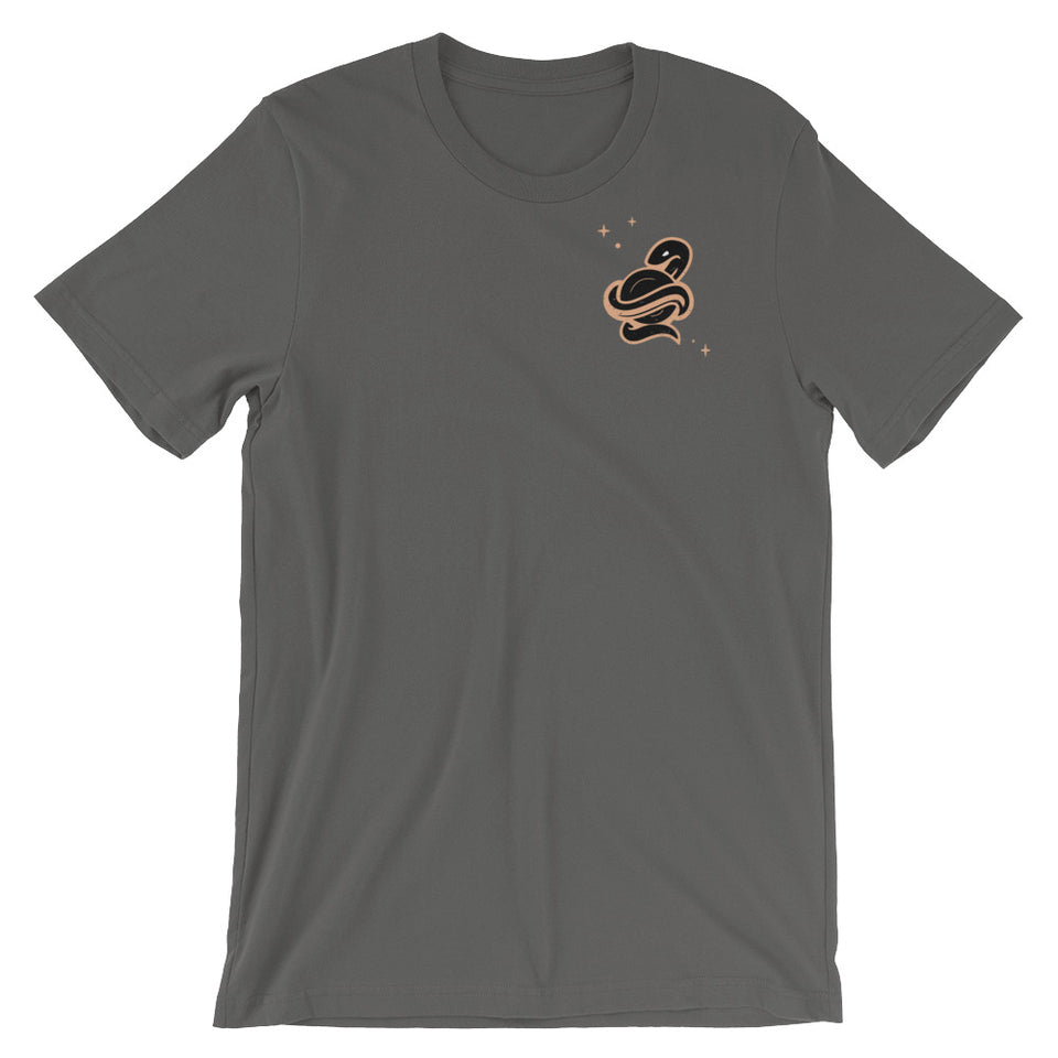SNAKE T BURNED • 4 color options
