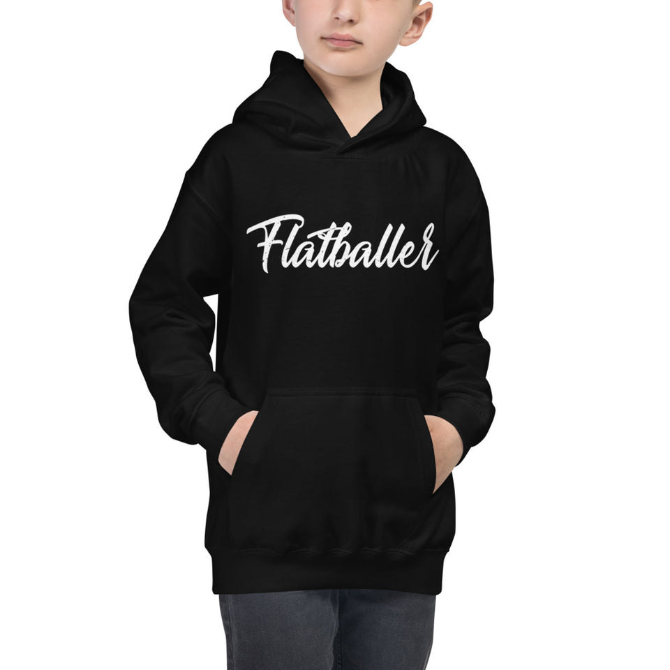 FLATBALLER YOUTH HOODIE • 3 color options