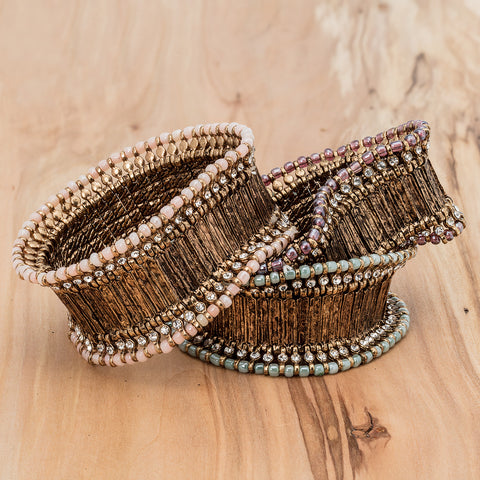 Bracelet Bandes Larges - Or