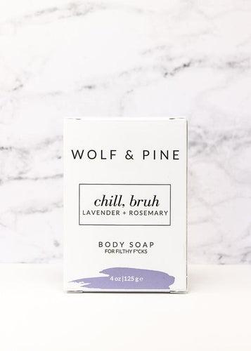 Chill, Bruh Body Soap