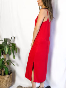 Spencer + Shaw - Red Hot Midi Dress