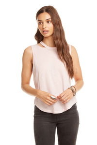 Chaser - Cutout Neck Tank