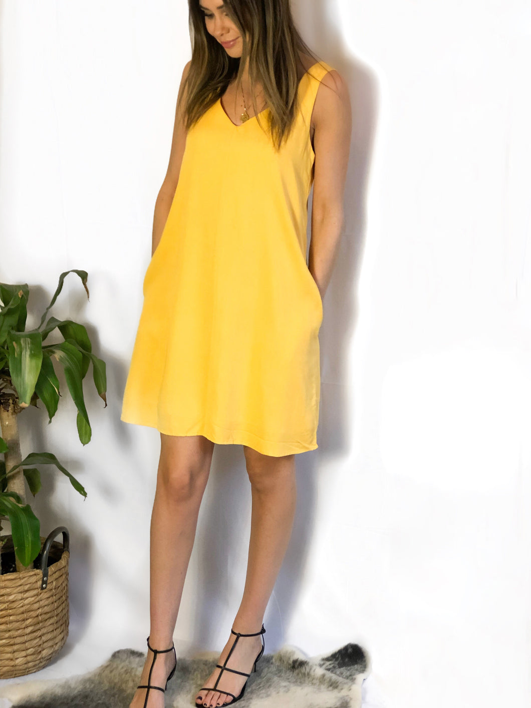 Spencer + Shaw - Sunshine Swing Dress