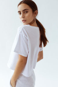 Joah Brown - Queen Crop Tee