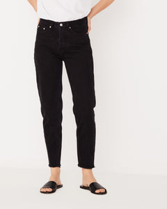 High Waist Rigid Jean Fray