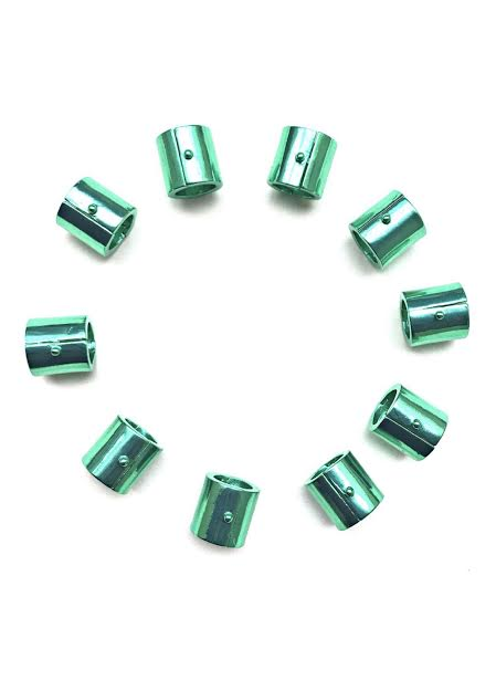 Emerald Green Hair Weights / Hair Gem & Natural Hair Stretching Tool