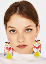 Bird Tassel Earrings