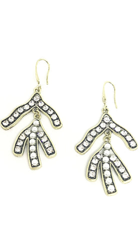 Classic Olive Branch Earrings