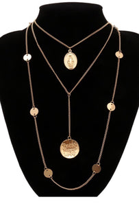 Goddess Layered Necklace