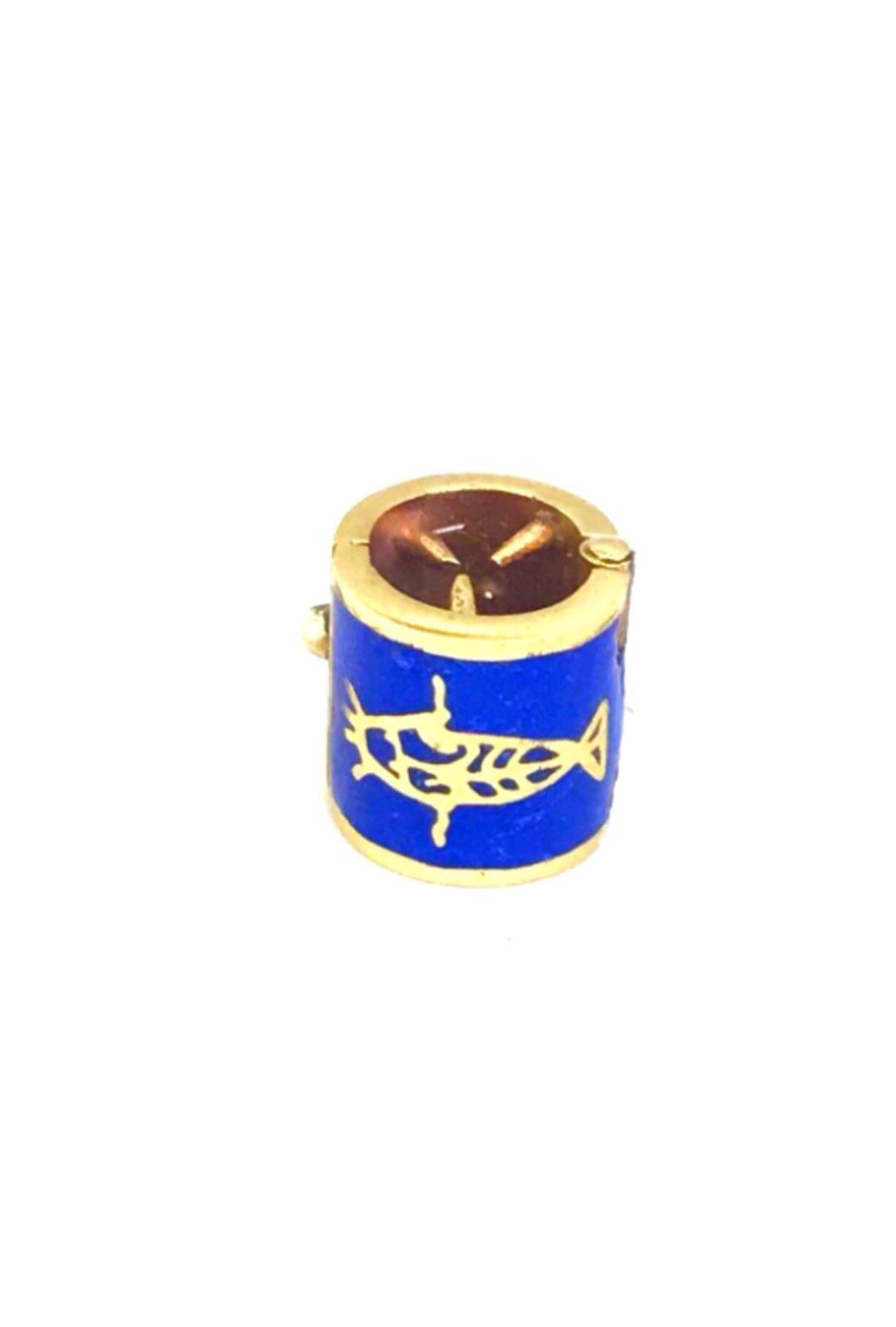 Nommo Symbol Gold Plated & Lapis