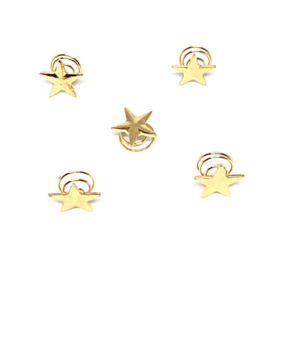 Sprinkle Star Hairpins 5 per set