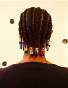 Tribal Design Custom Hair Weight 1 pcs