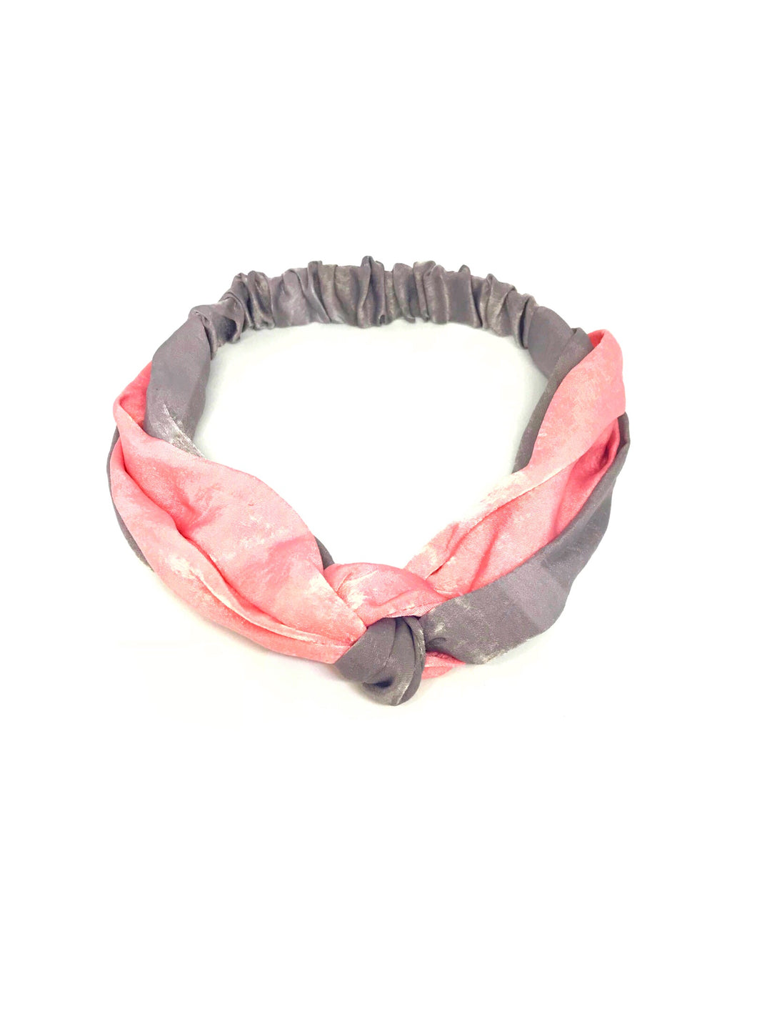 Pink & Gray Headband - 60% off